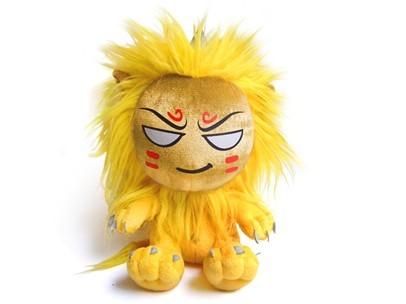 《梦话西游》黄金兽毛绒玩具
