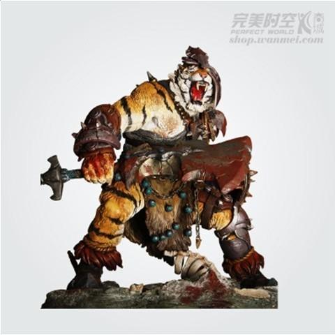 《完美世界》虎头人模型